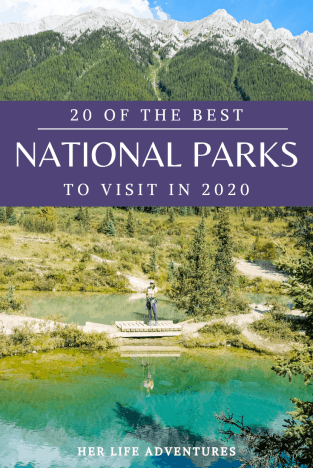 20 National Parks to visit in 2020; add these parks to your bucket list! You're not going to want to miss them.