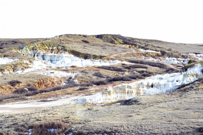 Discover Colorado's hidden gem, the Paint Mines Interpretive Park. Rainbow colored formations just outside of Colorado Springs. #rainbow #paintmines #coloradoparks #hiddengem #paintminespark