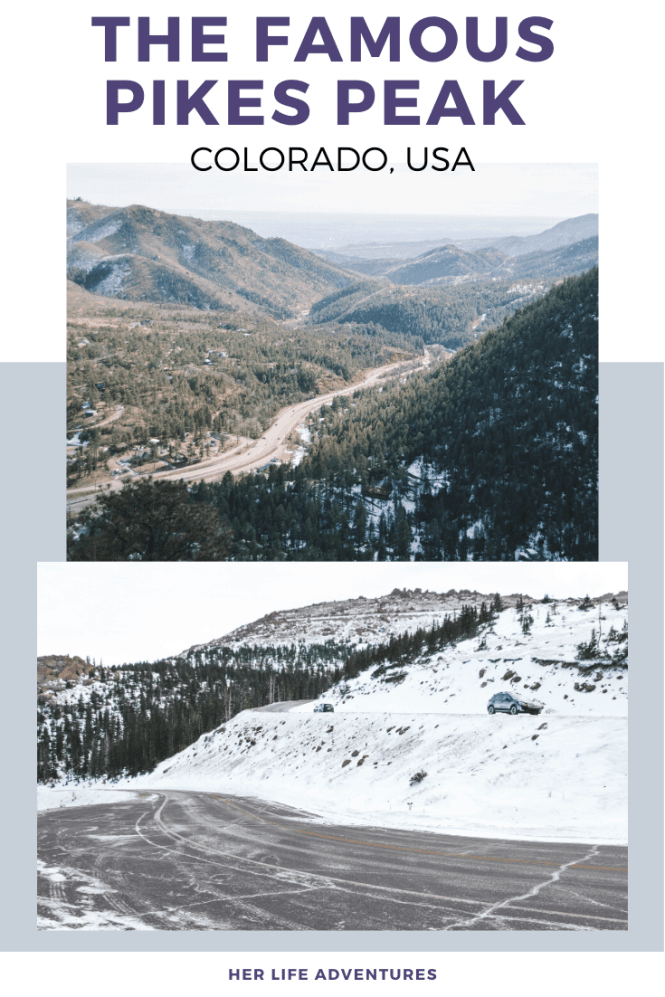 Everything you must know before visiting Colorado Springs in Colorado, USA. Hikes, hidden gems, and the best stops for your road trip. | Her Life Adventures | #coloradosprings #nationalpark #usadestinations #colorado #hikes #thingstodo #roadtrip #lodging #itinerary #guide