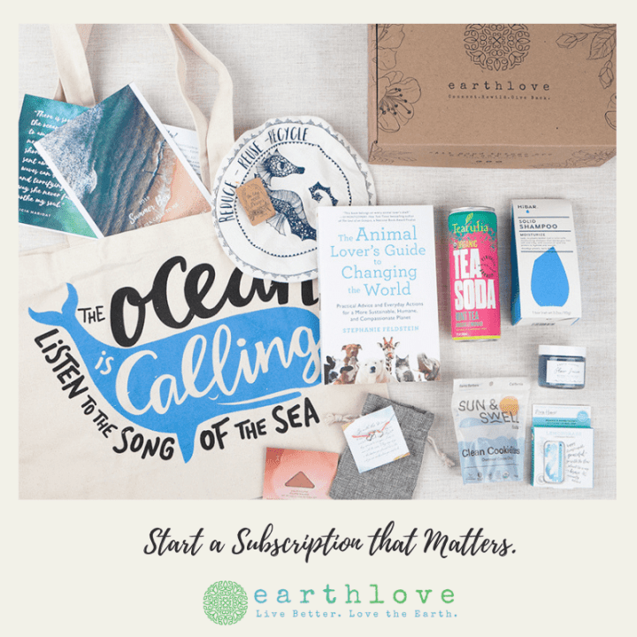 The Ultimate Eco Friendly Earthlove Subscription Box