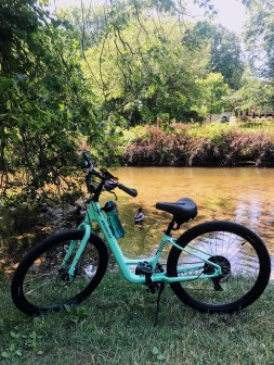 Bike or #hike along the #Clinton River #trail in Rochester #Michigan