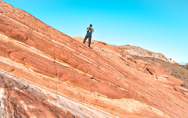 This adventure itinerary will provide you all the information you need for your visit to Valley of Fire State Park in Nevada. The best hikes, what to do, where to stay, tours, how to get there and more! | #nevadatravel #nevadaroadtrip #valleyoffire #statepark #photos #hiking #camping #photography