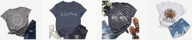 The best adventure t shirts and clothing for your outdoor adventures