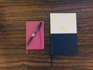 Write those worries down in a journal