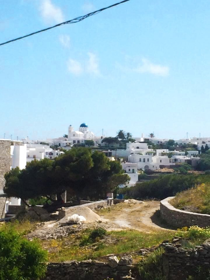 A typical neighborhood in Sifnos