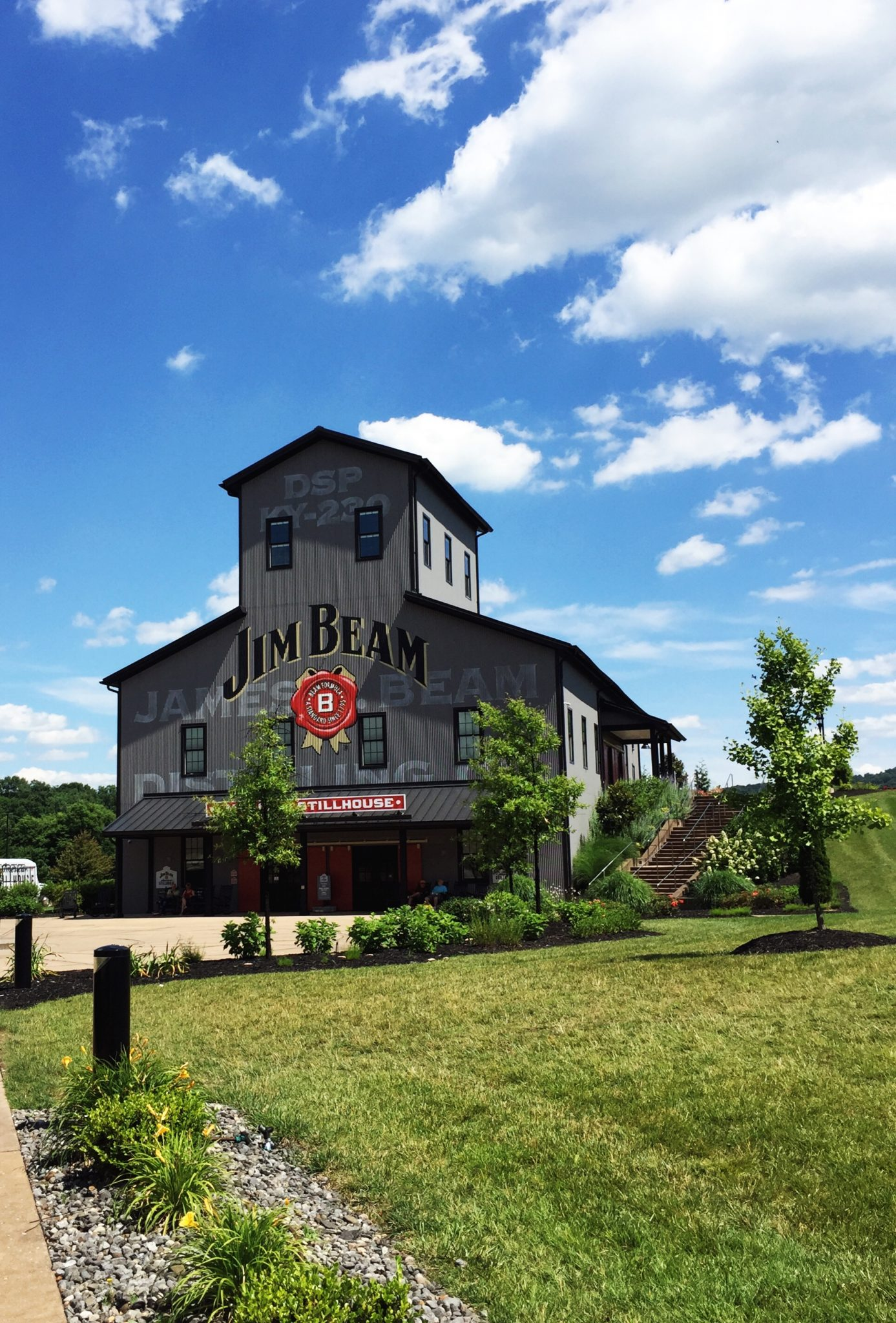 The Visitors Center at Jim Beam