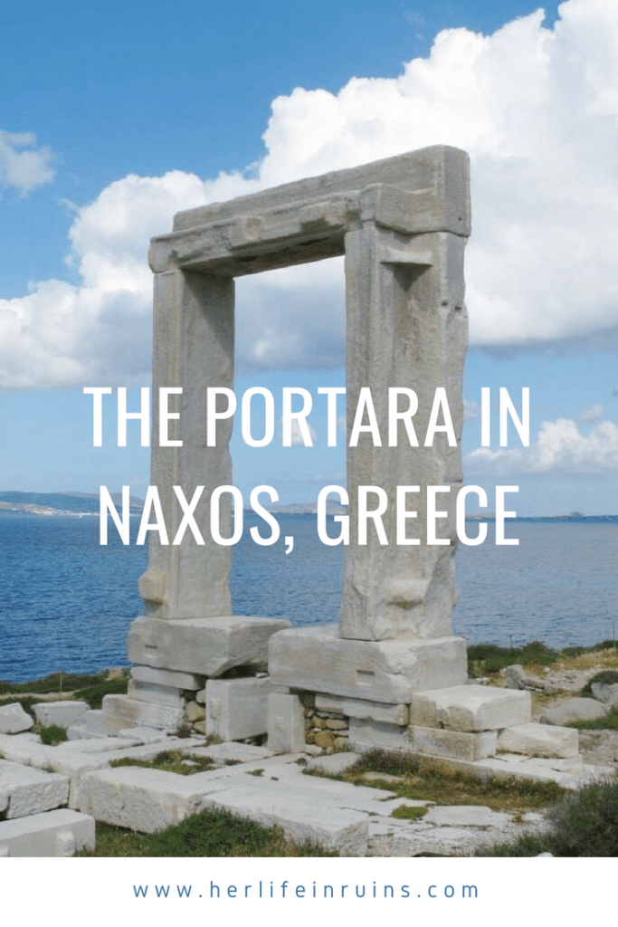 The Portara in Naxos, Greece | Her Life in Ruins