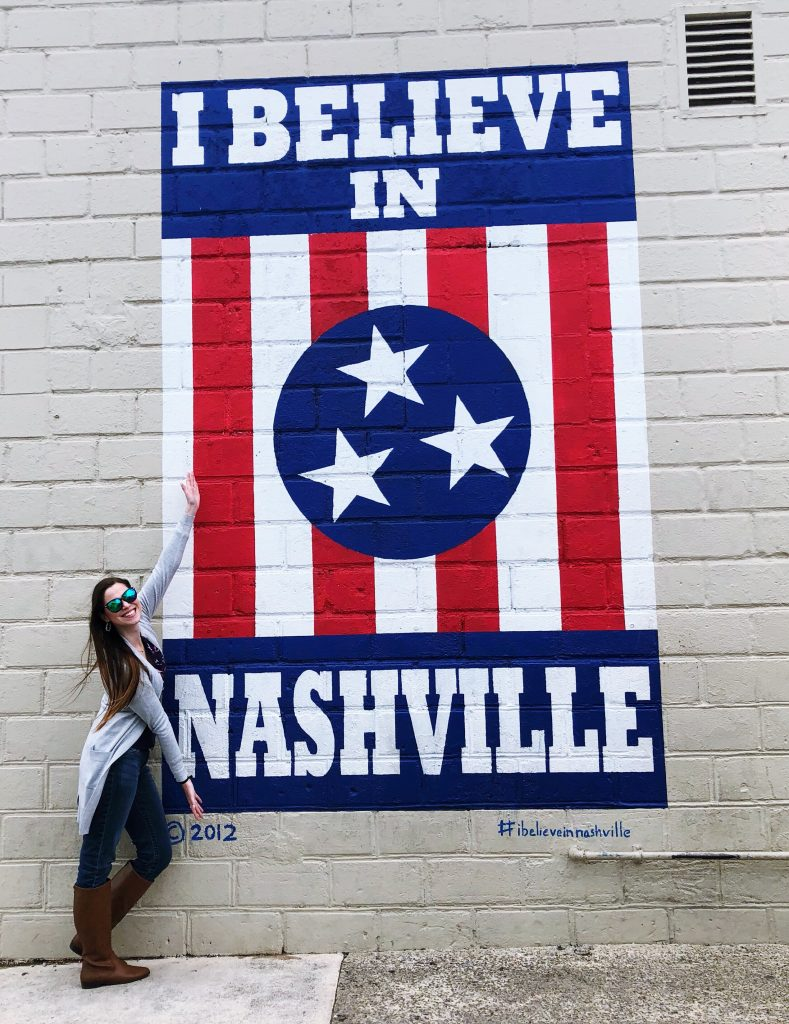 I Believe in Nashville Mural | The Instagrammers Guide to Nashville Murals