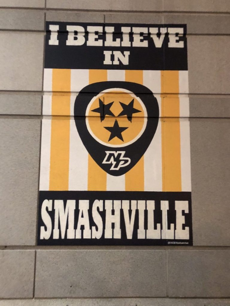 I Believe in Smashville Mural | The Instagrammers Guide to Nashville Murals