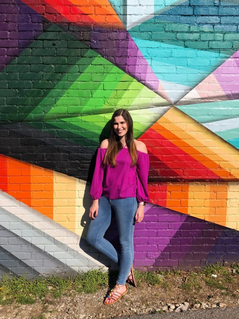Google Fiber Mural at Five Points Pizza | The Instagrammers Guide to Nashville Murals