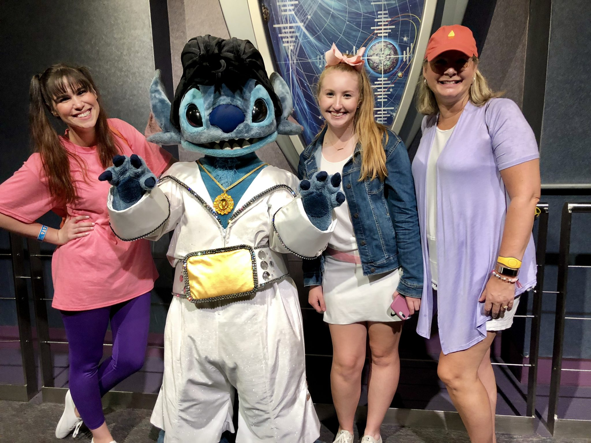 Stitch dressed as Elvis | Mickeys Not So Scary: Disneys Spookiest Party | www.herlifeinruins.com