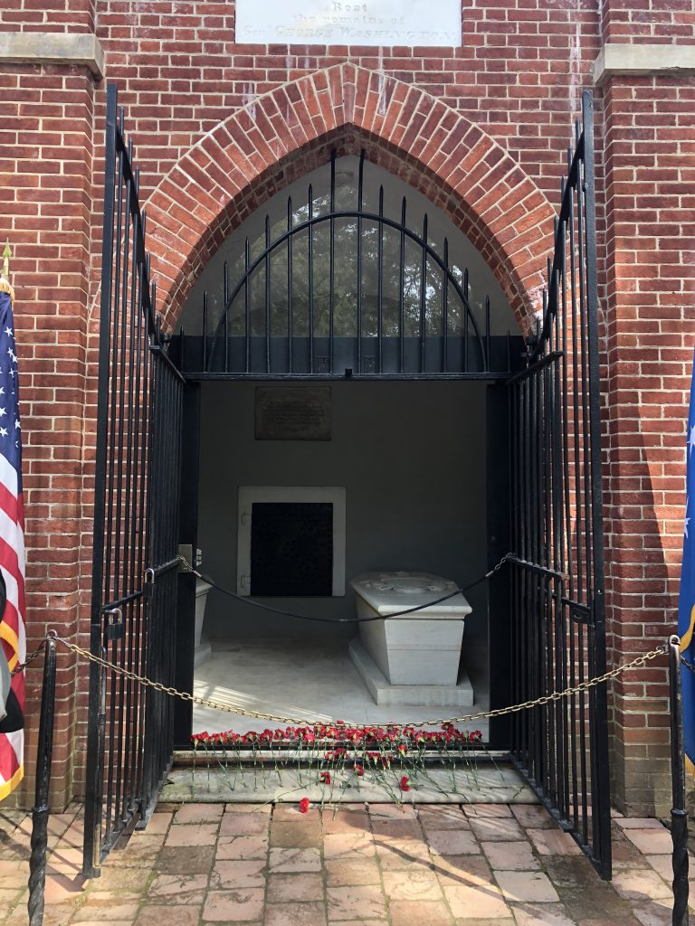 Her Life in Ruins | Washington's Tomb at Mount Vernon