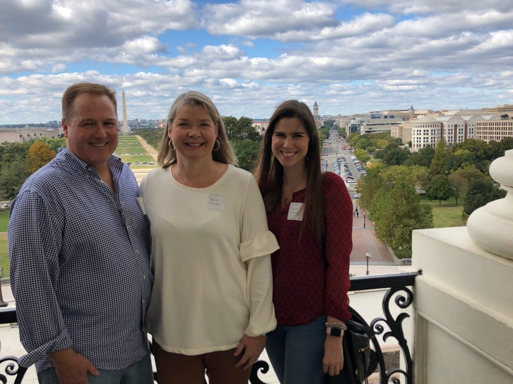 Mom, Dad, and Me on the Speaker's Balcony at the US Capitol | 2018: Year in Review