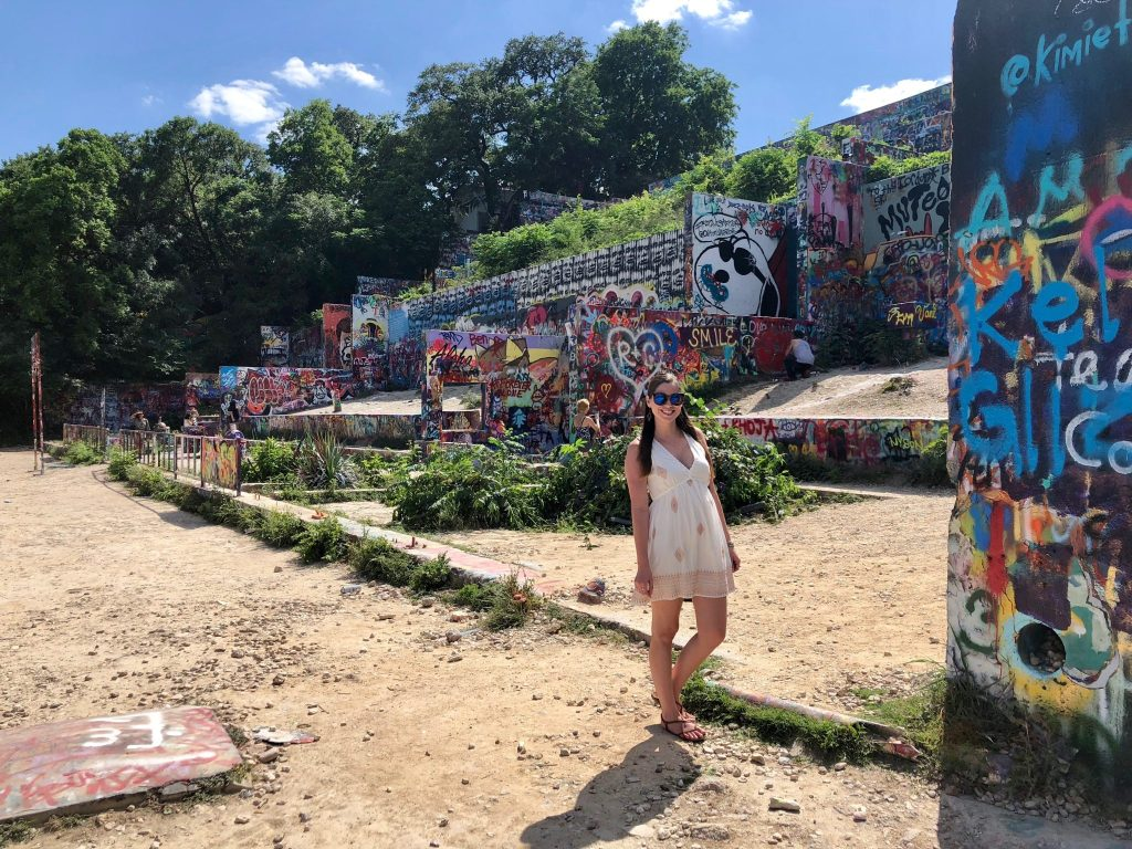 Castle Hill Graffiti in Austin, Texas | 2018: Year in Review