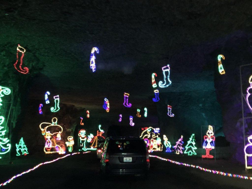 Lou-Ville Display at Lights Under Louisville | www.herlifeinruins.com