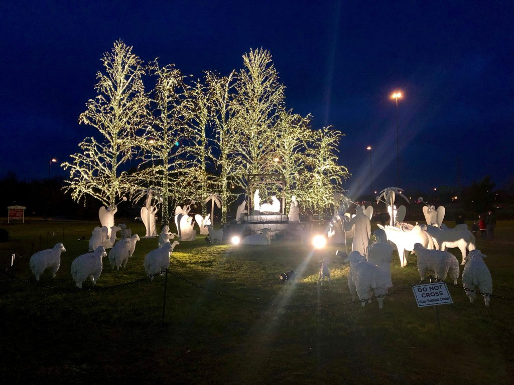Nativity on the Magnolia Lawn at the Gaylord Opryland Resort