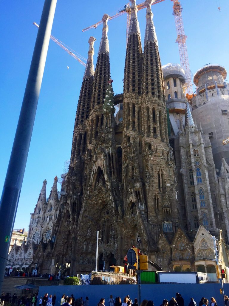 The Nativity Facade of The Sagrada Familia | Barcelona Essentials: 7 Days the Catalan Capital | Her Life in Ruins