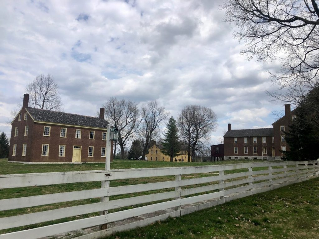 The East Family Dwelling and Work Spaces at Shaker Village of Pleasant Hill | Her Life in Ruins