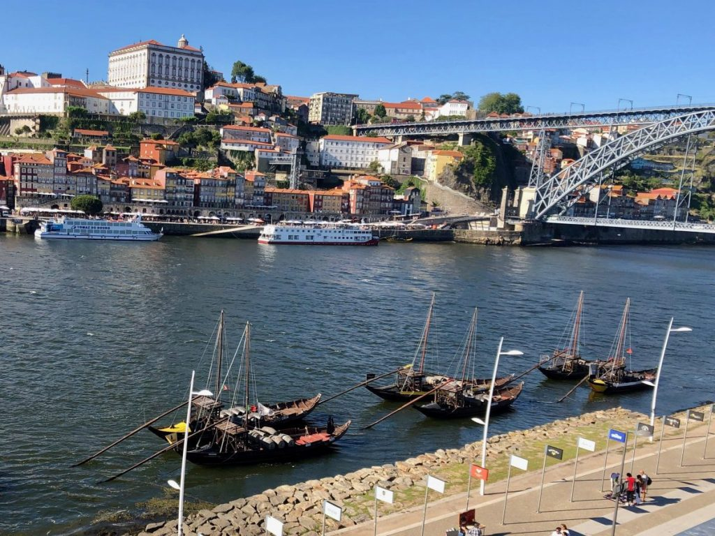 View of Porto's Ribeira from Gaia | Her Life in Ruins