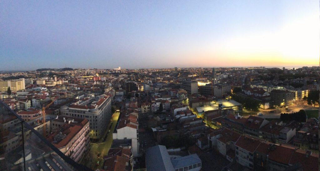 Sunset Views in Porto from Hotel Dom Henrique | Her Life in Ruins