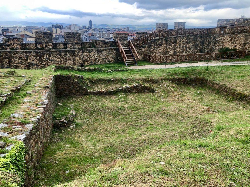 The archaeological site at Castillo de los Templarios | Her Life in Ruins