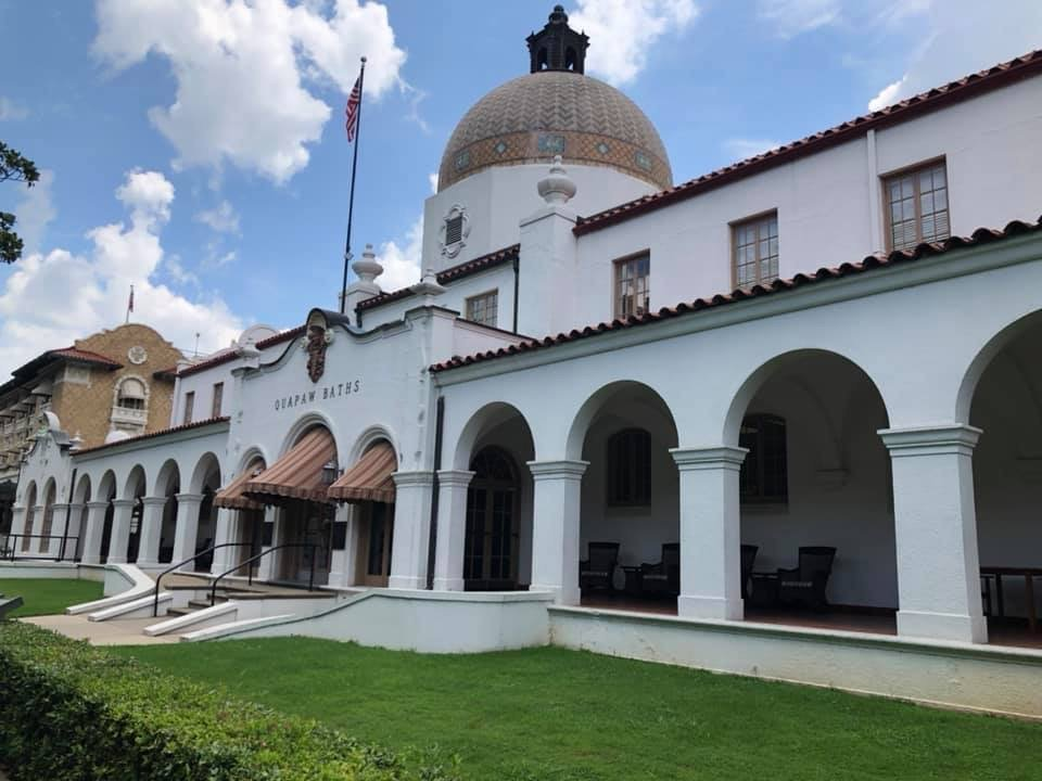 Quapaw Bathhouse, Hot Springs, Arkansas | Road Tripping the Sights of Central Arkansas