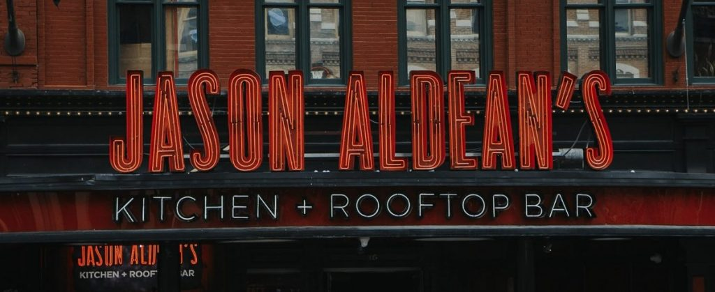 Jason Aldean's Kitchen + Rooftop Bar | The Ultimate Guide to Nashville's Lower Broadway | Her Life in Ruins