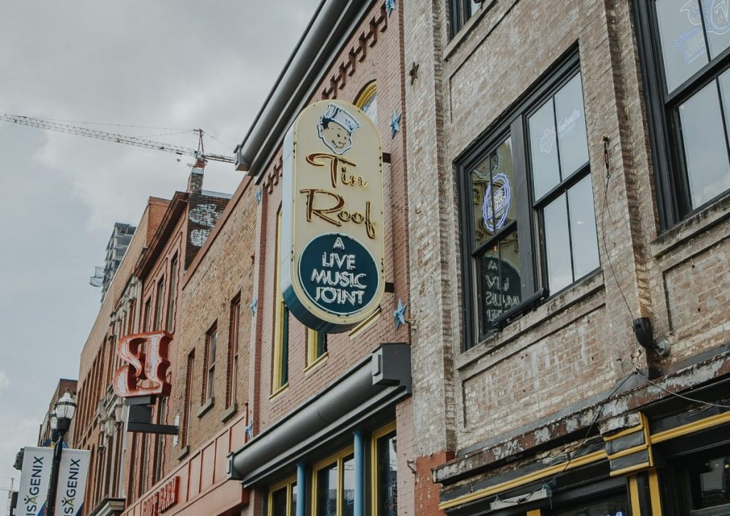 Tin Roof | The Ultimate Guide to Nashville's Lower Broadway | Her Life in Ruins