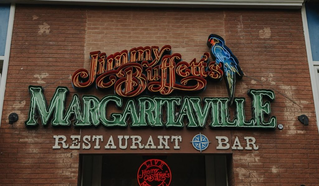 Jimmy Buffett's Margaritaville | The Ultimate Guide to Nashville's Lower Broadway | Her Life in Ruins