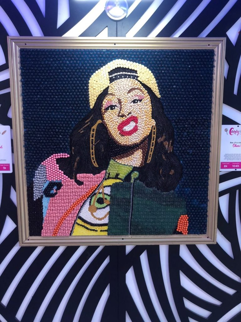 Cardi B Candy Painting | Everything's Better in (Houston) Texas! | Her Life in Ruins