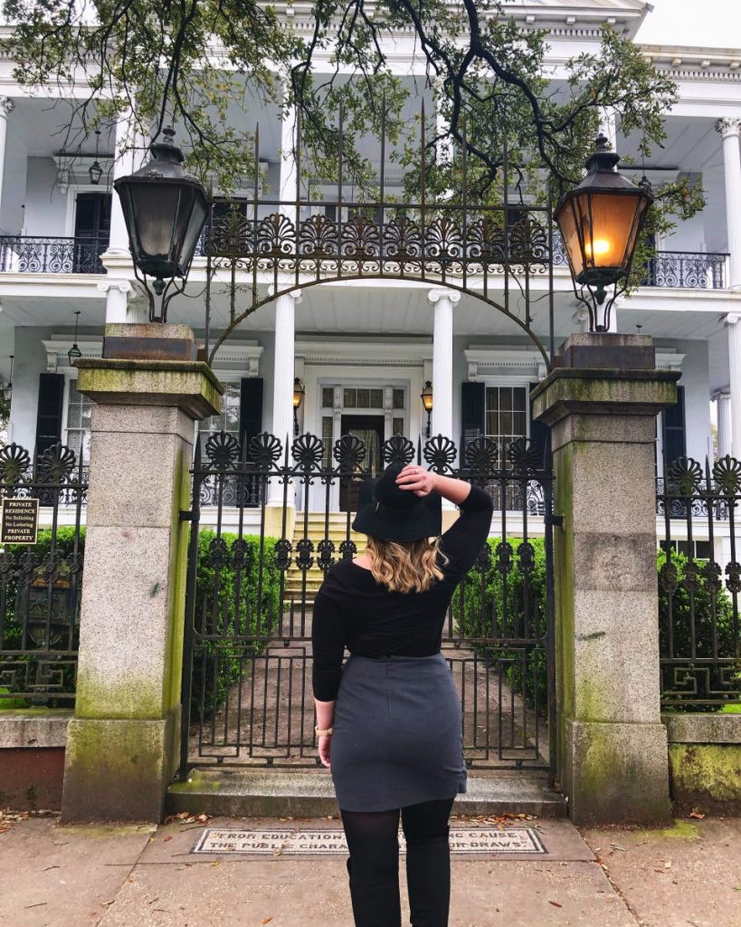 Buckner Mansion from AHS: Coven | Living a New Orleans Dream