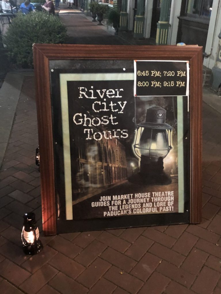 River City Ghost Tour Advert | Her Life in Ruins