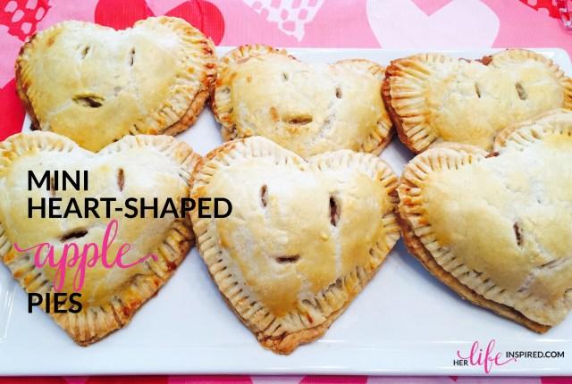 Mini Heart Shaped Apple Pies