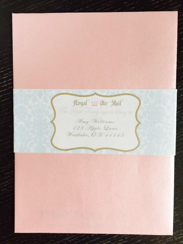 Custom envelope label