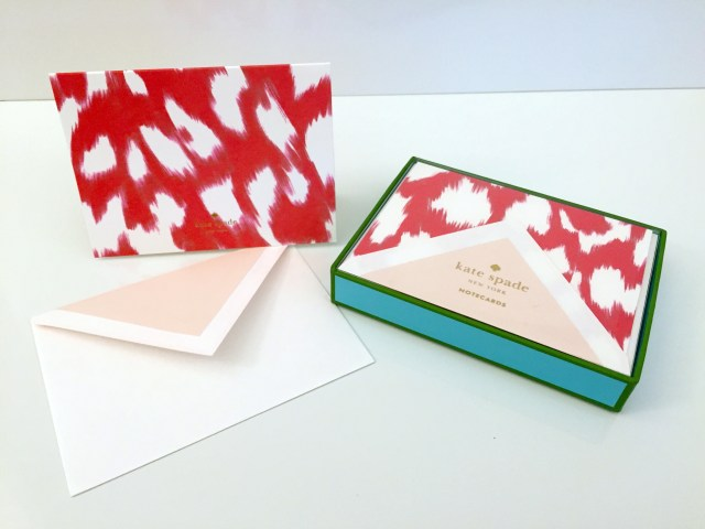 Kate Spade Note Cards