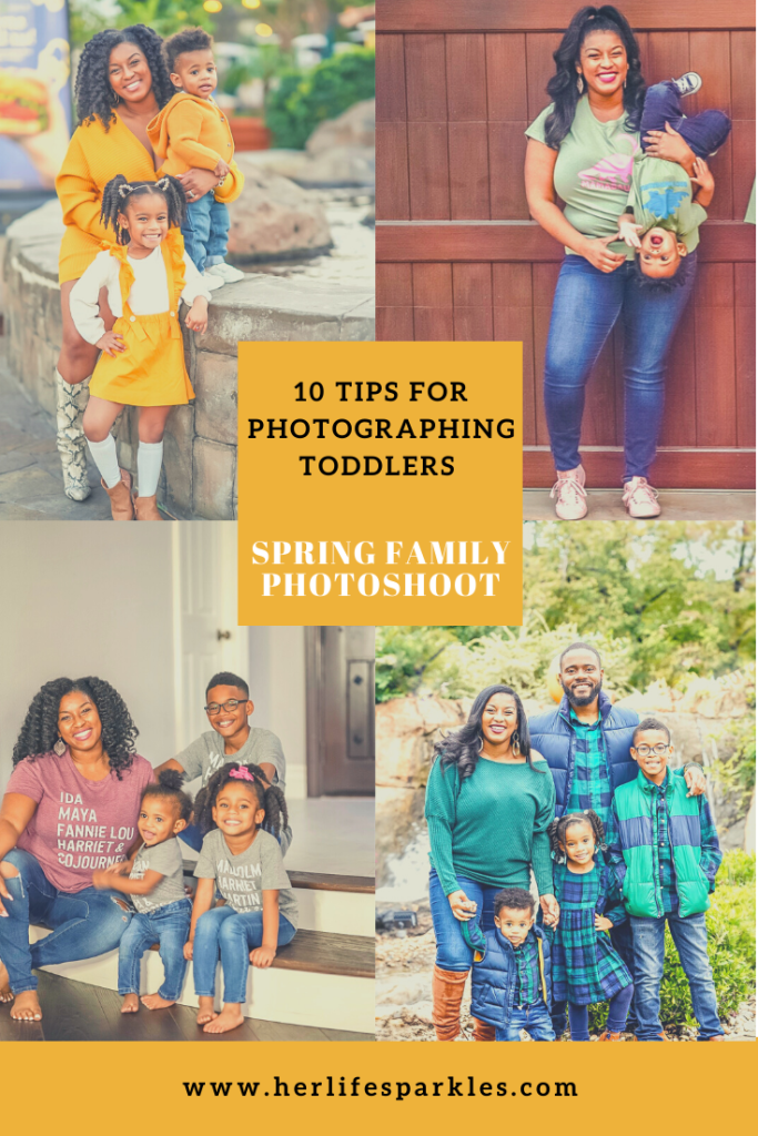 Family Photoshoot: Best Tips for Photographing Toddlers