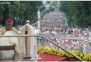 el papa en Polonia