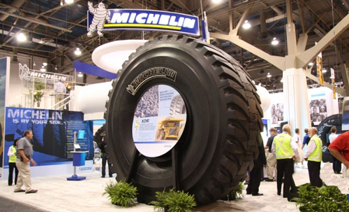 El neumático más grande del mundo