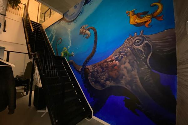 muurschildering - mural