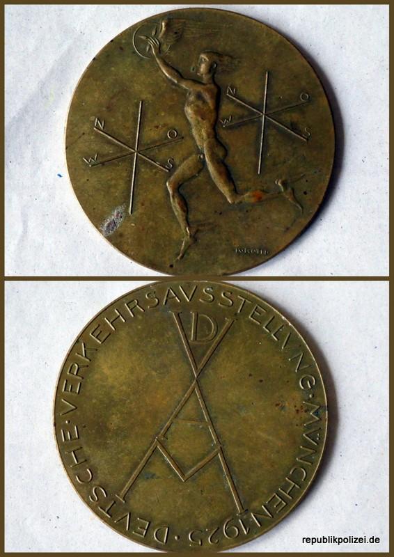Hermes-Medaille 1925