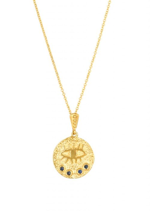 Kressida Small Medallion 14k