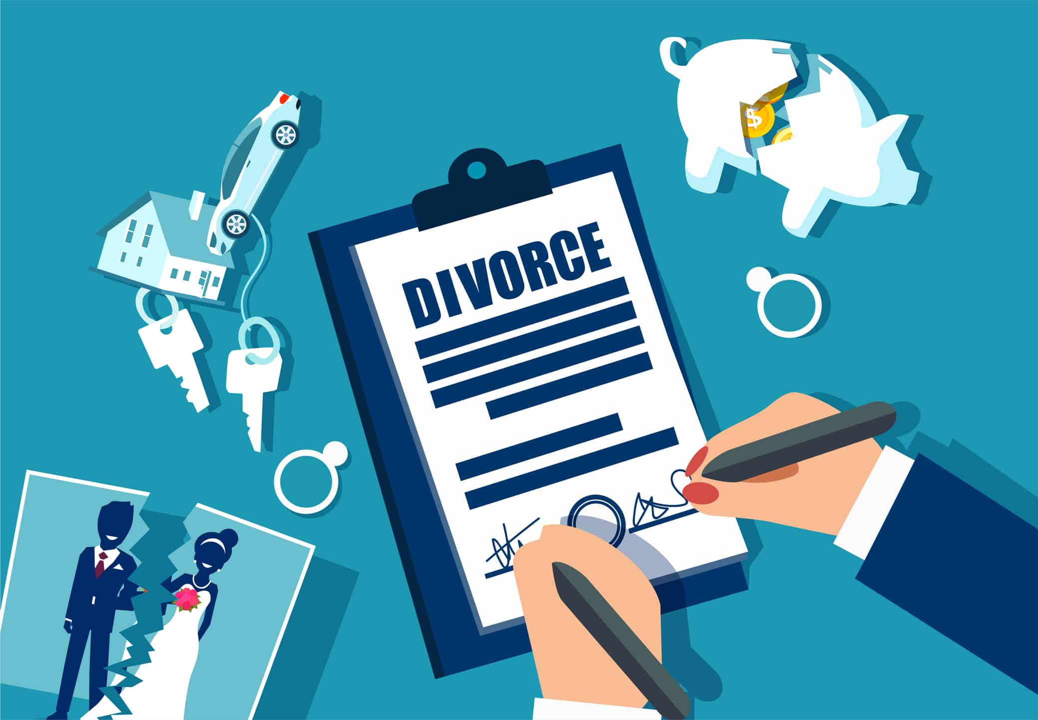 Dividing Assets In A Divorce