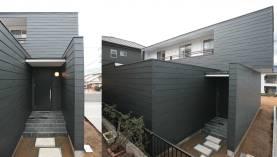 木更津 新築住宅 ガルバニウム 外壁