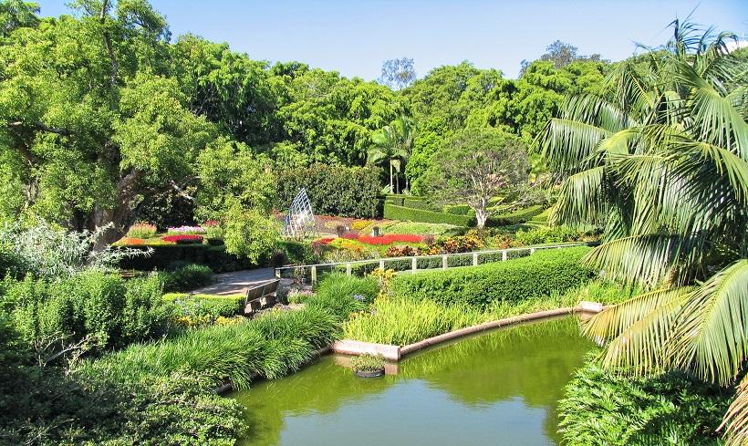 Brisbane SCG Roma Street Parklands Hermitopia