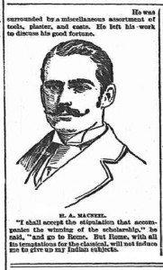 H.A.MacNeil ~1895 sketch - Chicago-Sun