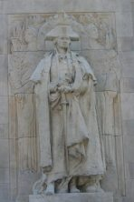 """George Washington as Commander-in Chief"" ~ A recent photo of this MacNeil work that has graced the Washington Arch in Greenwich Village for the last 96 years."