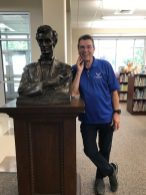 "MacNeil's ""Lincoln Lawyer"" At the Rushville, Illinois Public Library."
