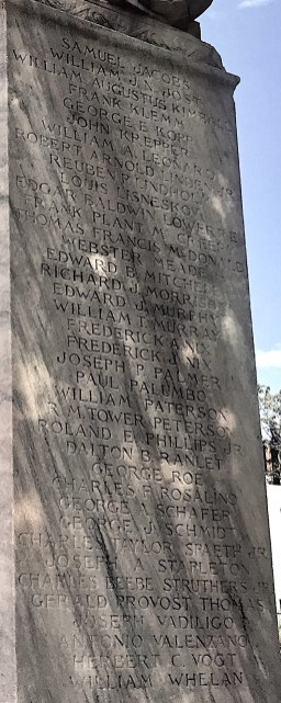 Names of Veterans H-W.