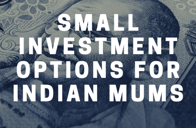 small investment options for indian mums title on indian rupee note