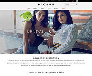 Pacsun Landing Pages